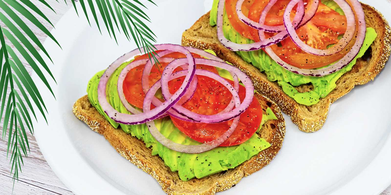 The Palm Deli offers scrumptious Avocado Toast with fresh ingredients made to order.